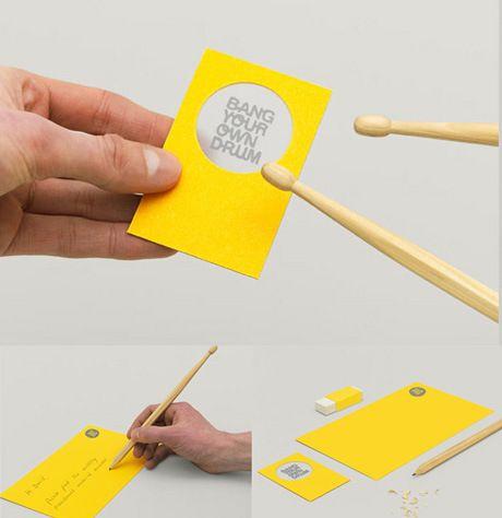 Creatividad en forma de tarjetas de visita u2013 Las 50 mejores tarjetas - tarjetas creativas