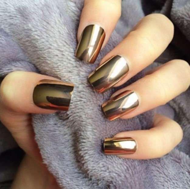 Las uñas espejo: fotos de los nail art (11/21) | Ellahoy | Uñas ...