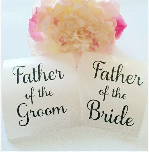 A personal favorite from my Etsy shop https://www.etsy.com/listing/275077994/father-of-the-bride-father-of-the-groom