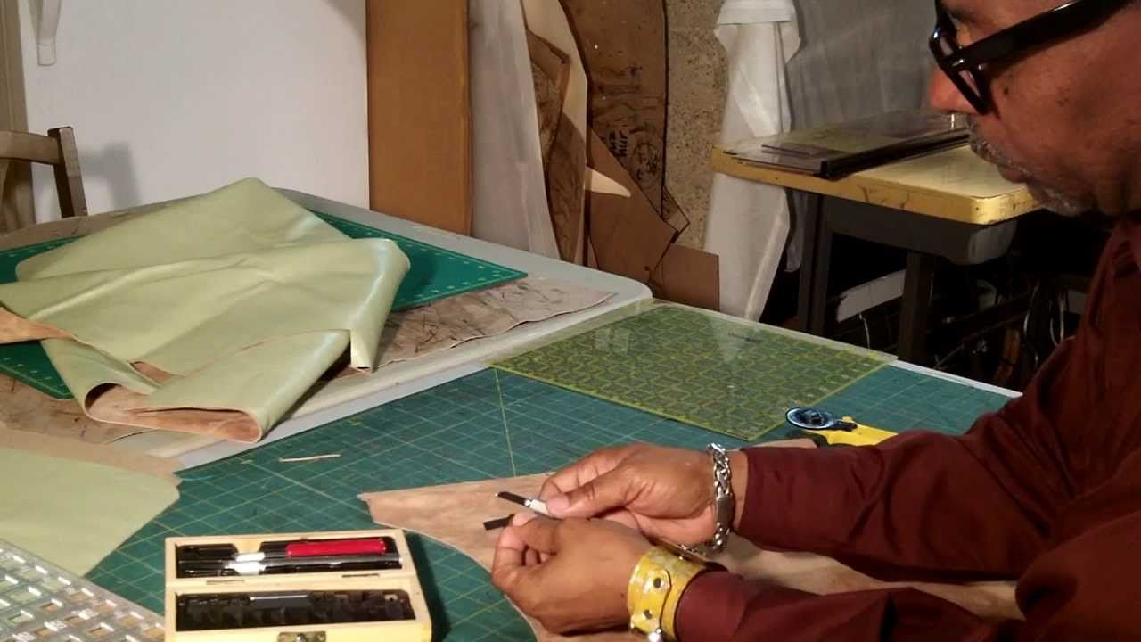How To make A Leather Tote Bag With A Fabric Lining Part 2