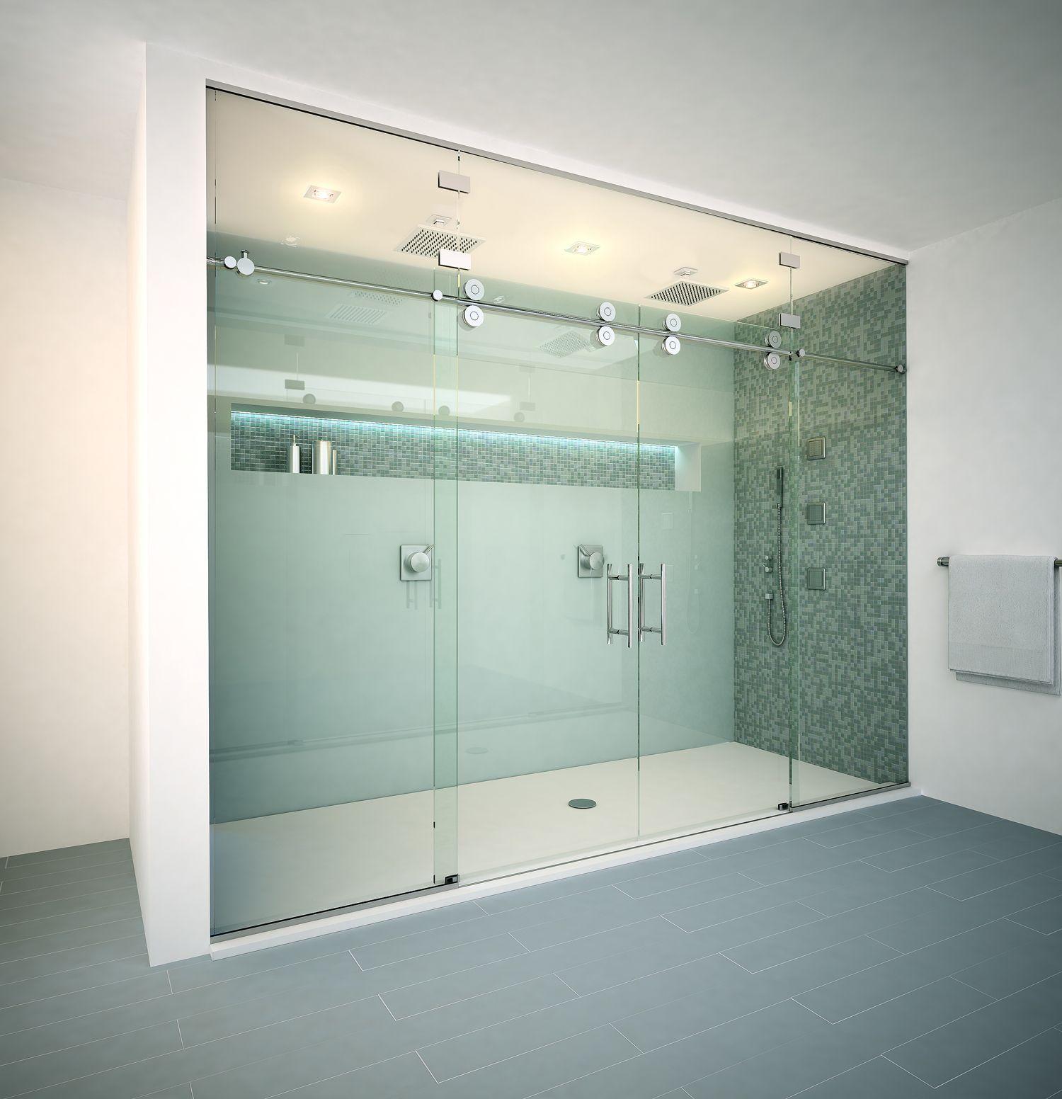 Frameless vs Semi-Frameless vs Framed Shower Enclosures | Frameless ...