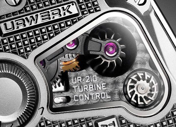 URWERK UR-210 - Turbine Control