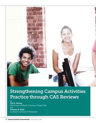 Strengthening Campus Activities Practice through CAS Reviews