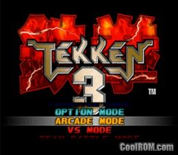 Tekken 3 ROM (ISO) Download for Sony Playstation / PSX - CoolROM com