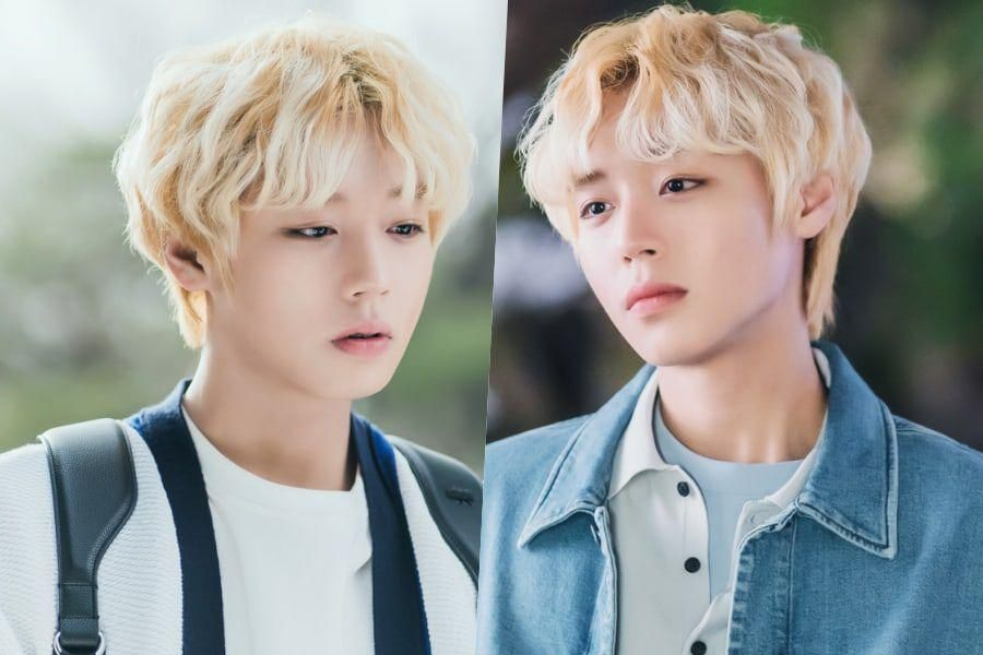 """Park Ji Hoon Is A Campus It Boy With Secrets In Upcoming Drama """"At A Distance Spring Is Green"""""""
