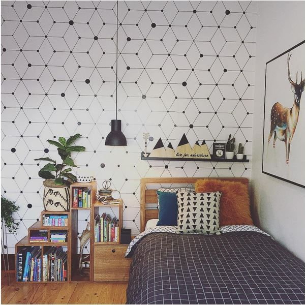 Boys Bedroom With Feature Wallpaper: The Boo And The Boy: Kids' Rooms On Instagram