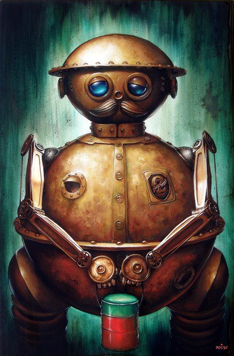 Tic Toc from return to Oz......if you haven't seen it, try and find it, best movie ever :)