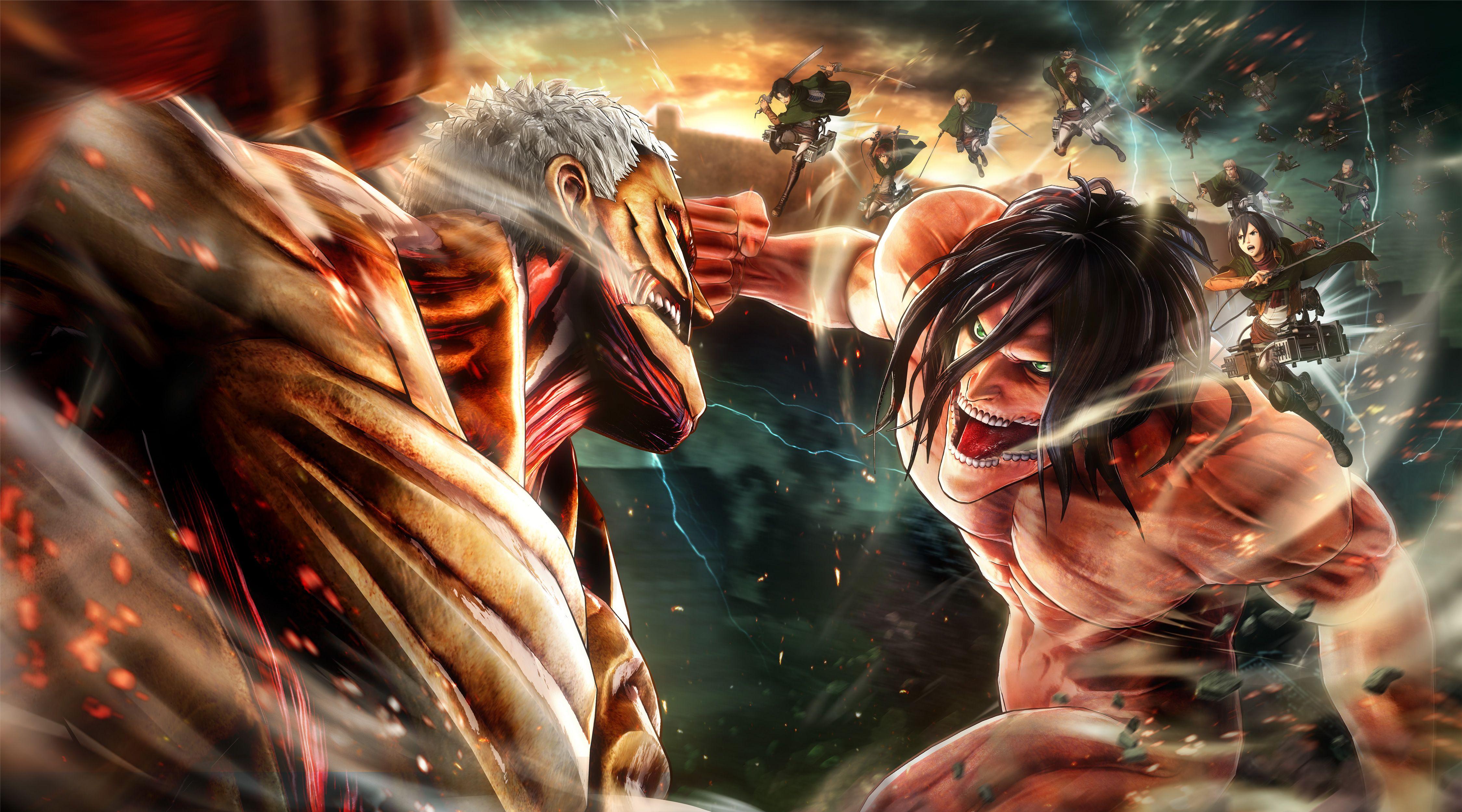 Attack On Titan Wallpaper 4k Anime Wallpaper in 2020