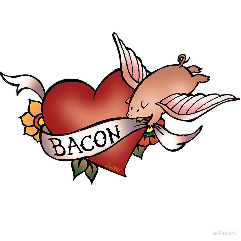 cartoon flying pig tattoo designs