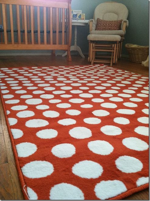 Ikea Orange Dot Rug 4 4 By 6 5 Quot 19 Love The Pattern