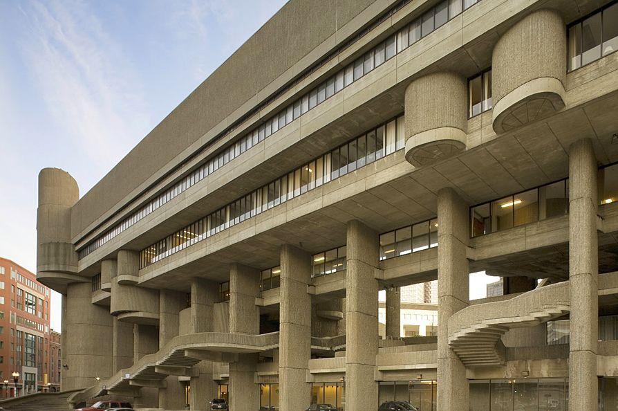 Der Grosse Ich Beton Thread Brutalist Architecture Architecture Boston City Hall