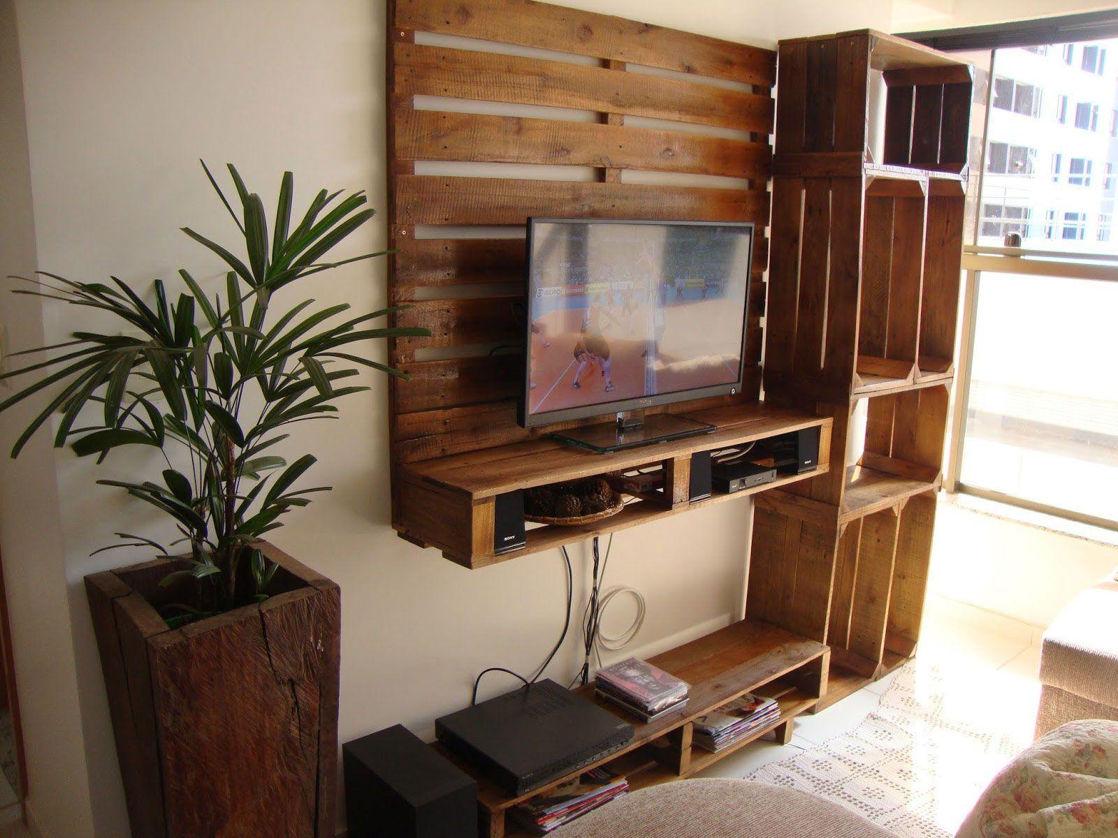 25 Ideas Creativas Y Originales Con Pallets De Madera Ideas  # Muebles Reciclados Originales