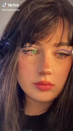 Pin By Rahaf Ba On Make Up Video Indie Makeup Edgy Makeup Creative Makeup Looks