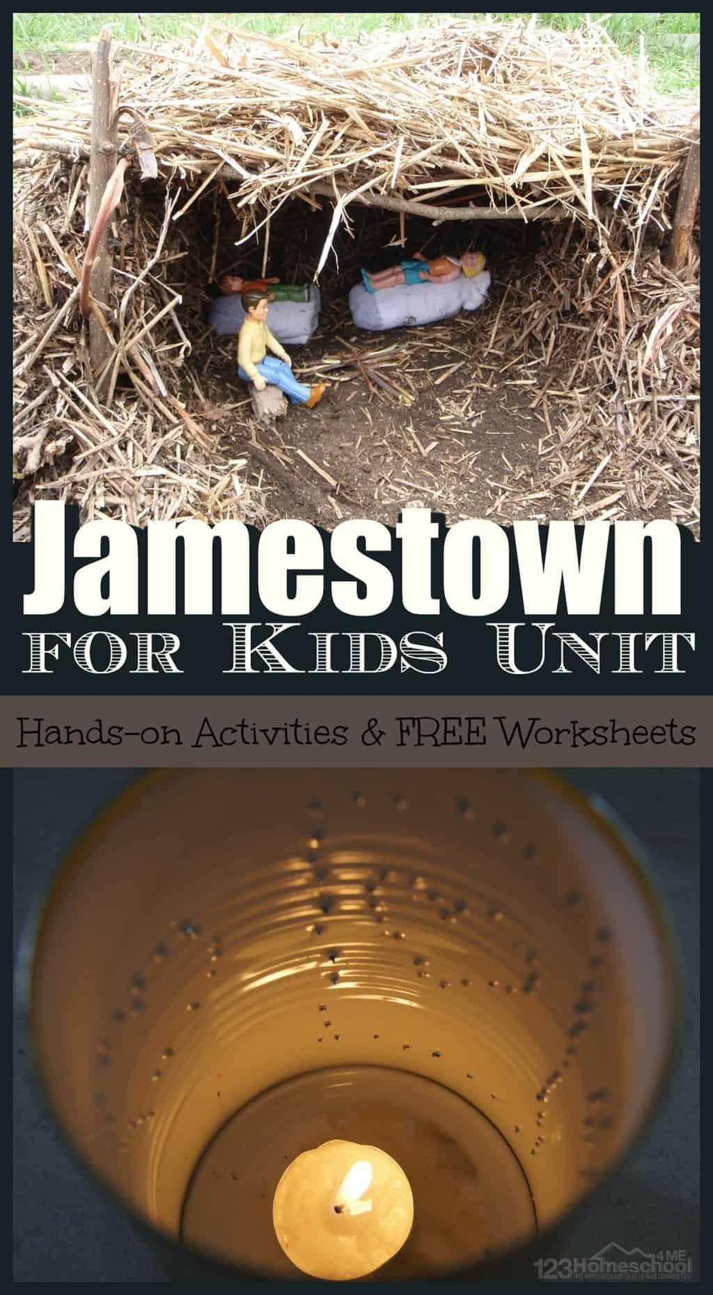 Jamestown For Kids Unit