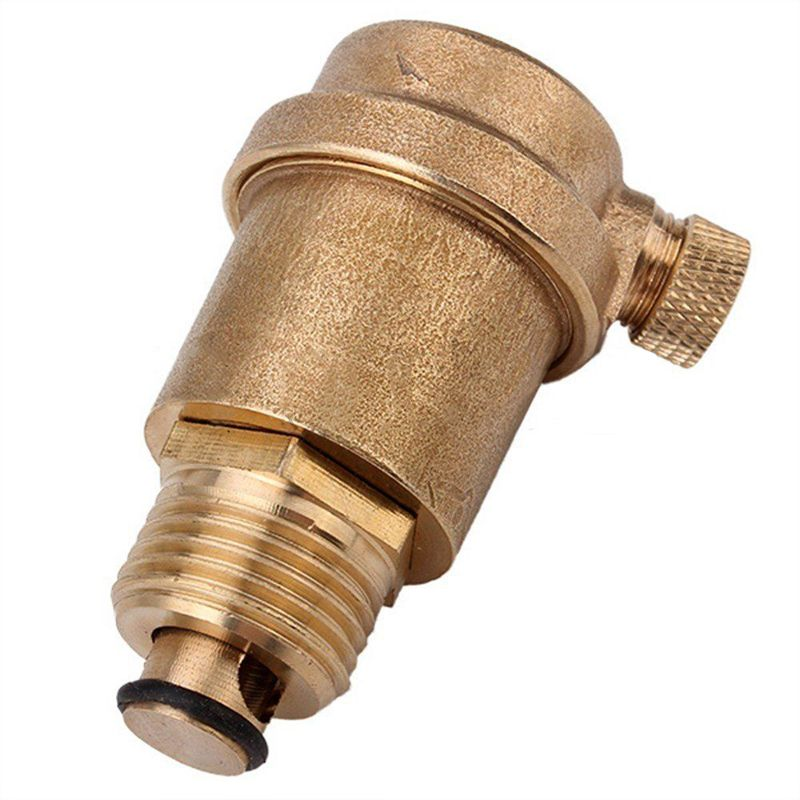 1 2 Brass Automatic Air Vent Valve For Solar Water Heater Pressure Relief Value Hardware Tools Mayitr Solar Water Heater Solar Energy Panels Solar Panels