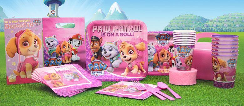 Paw Patrol Party Geschirr Dekoration Luftballons Geschenk