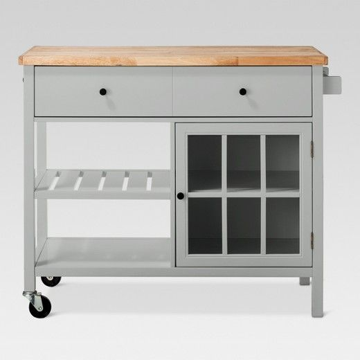 Windham Wood Top Kitchen Island - Threshold™ (With images ...