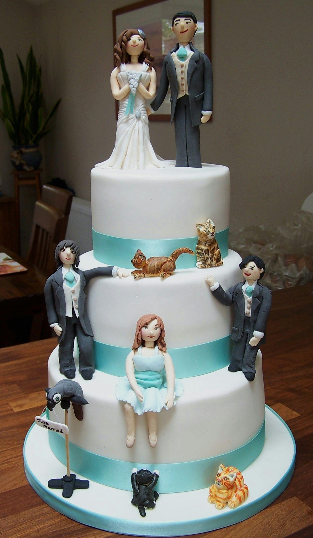 All The Family Fun Wedding Cake Cool Cakes Weird Addiction Mariage