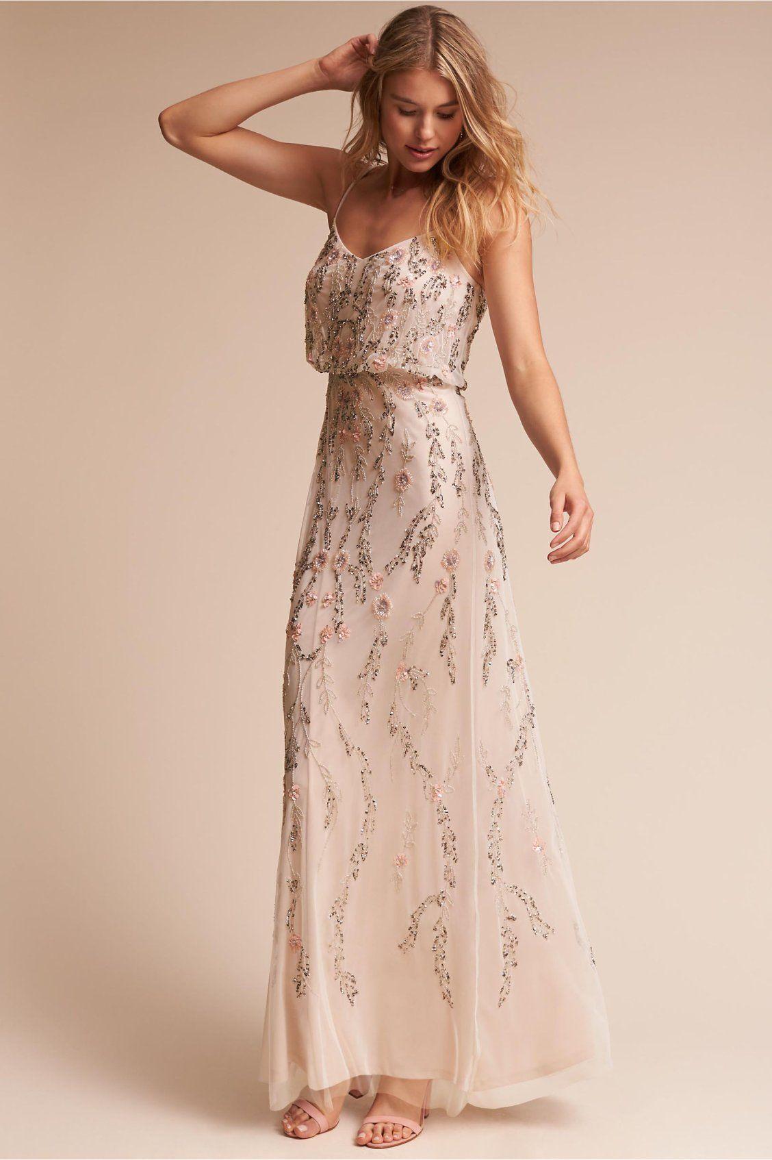 Tribute Dress from BHLDN  Trauzeugin kleid, Kleider mode