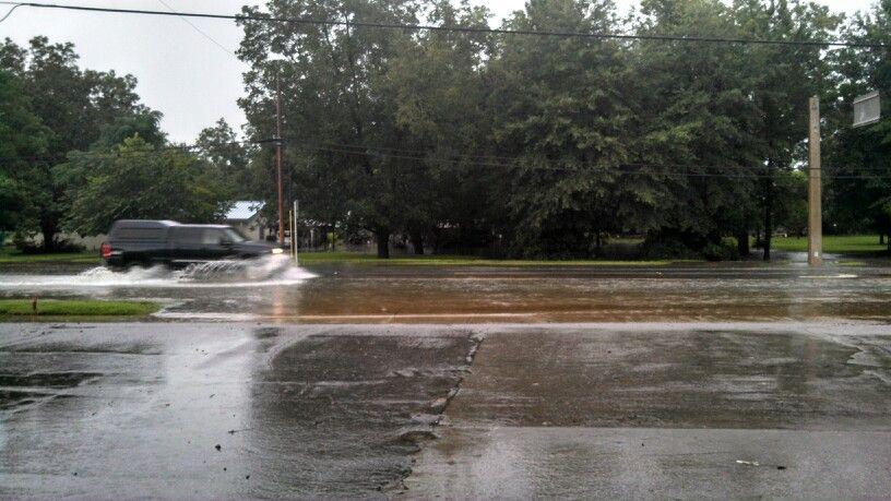 Chipley FL under water