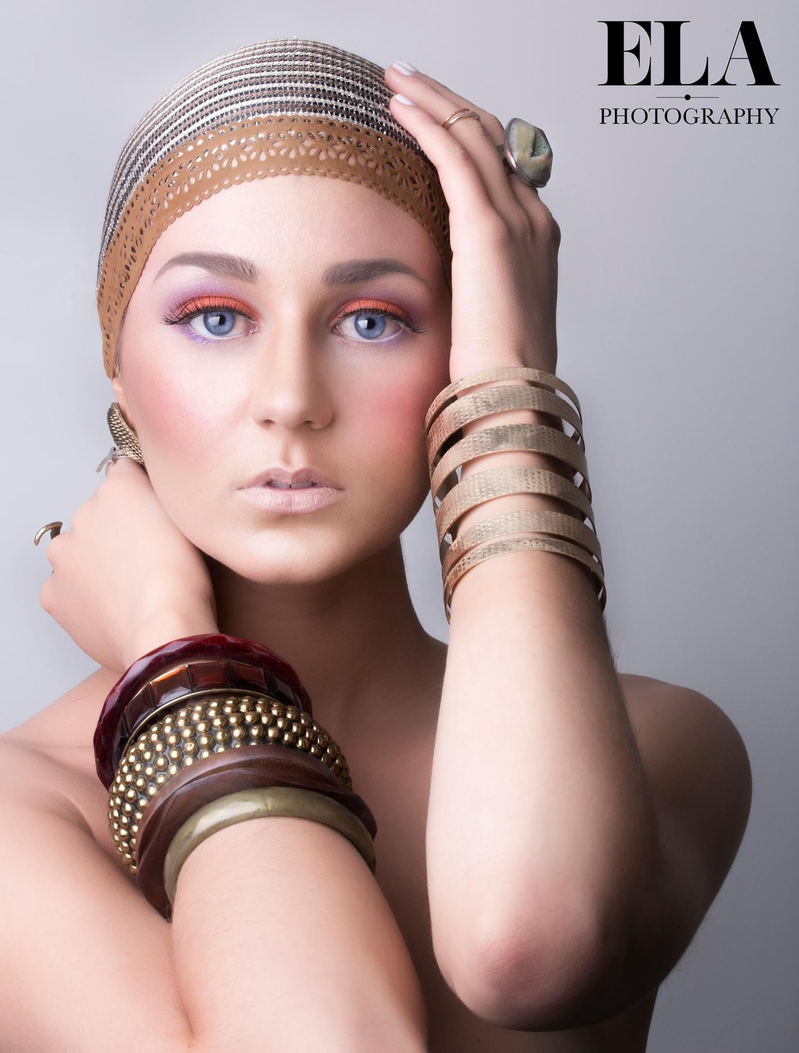 Ivy Levan Nude Top http://www.elastudios.au creative make up, glamour photography
