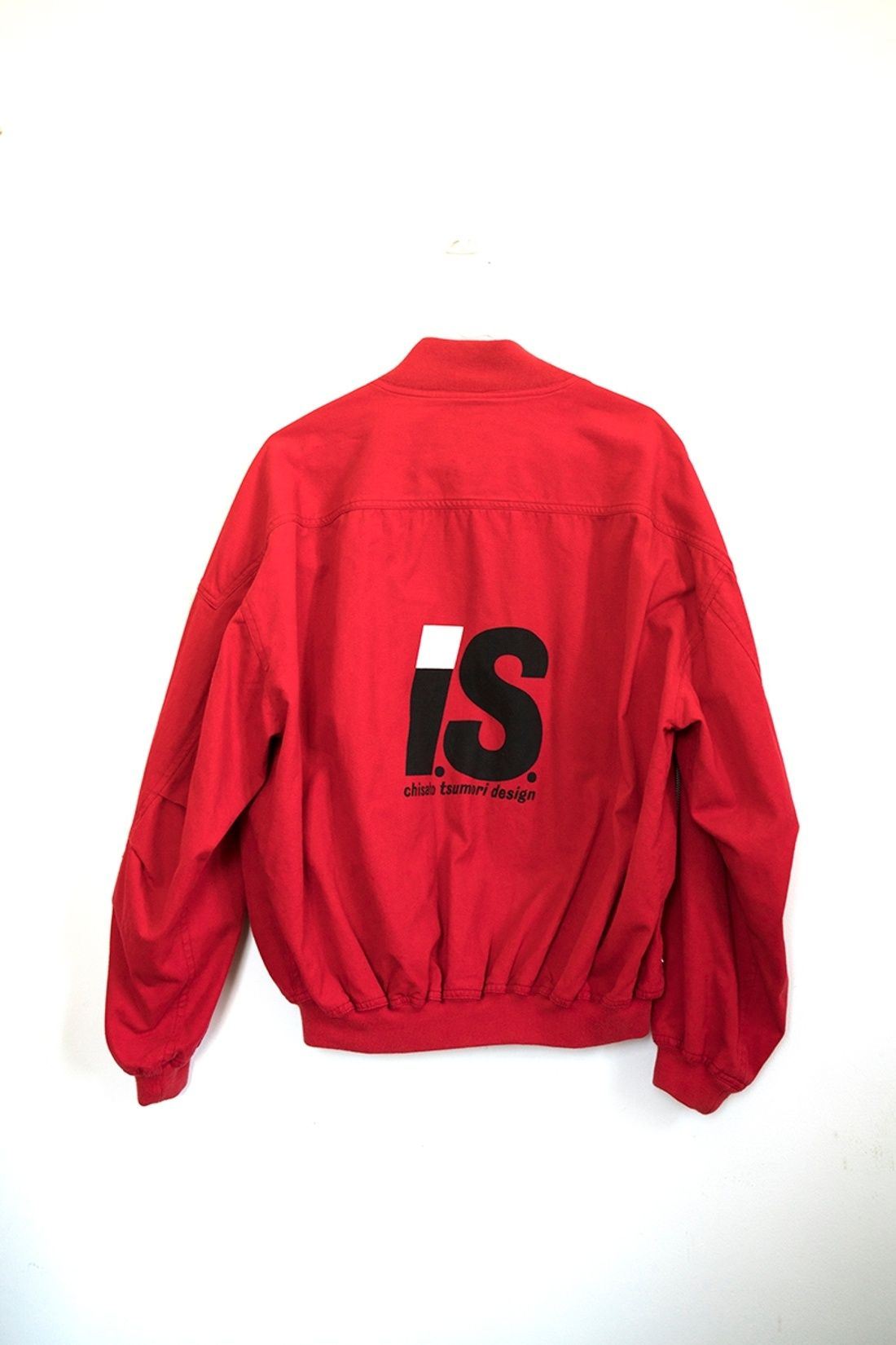 40a82d6e Issey Miyake Archival 80s I.S. Akira Red Cotton Bomber Jacket Size S $849 -  Grailed