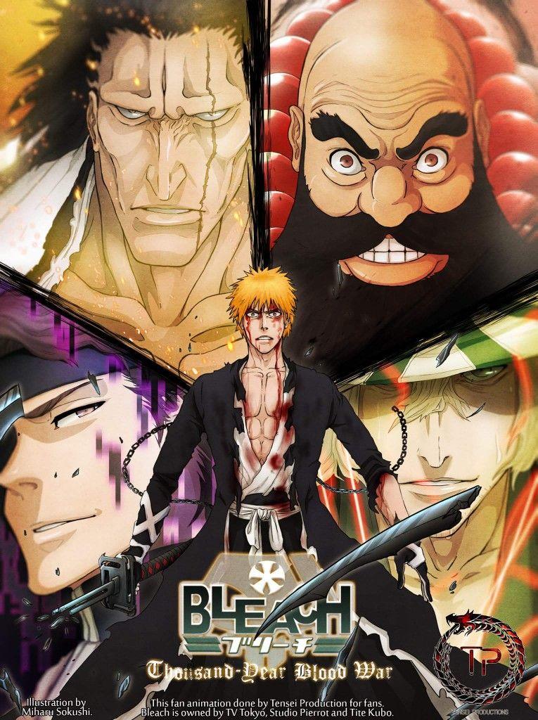 Thousand year blood war arc Bleach Anime, Aizen, Shinigami