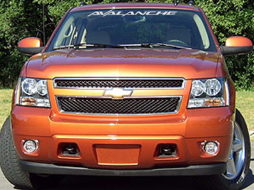 CHEVY AVALANCHE WINDSHIELD DECAL EBay Motors Parts - Chevy windshield decals trucks