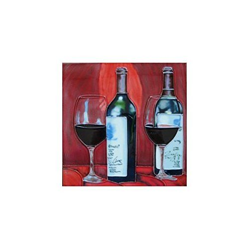 Decorative Wall Art Tiles Red Wine Decorative Ceramic Wall Art Tile 11X14 Cctc Httpswww