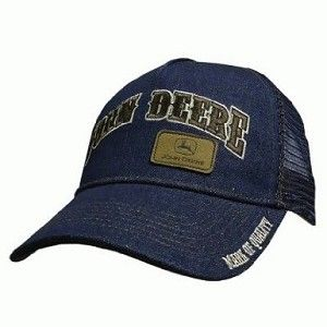 John Deere Denim Trucker Hat