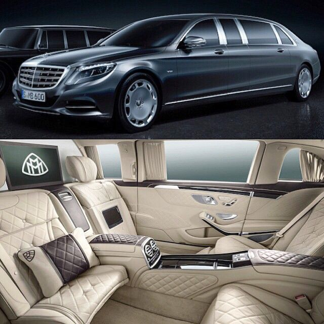 Mercedes Benz Maybach Pullman With Images Mercedes Benz
