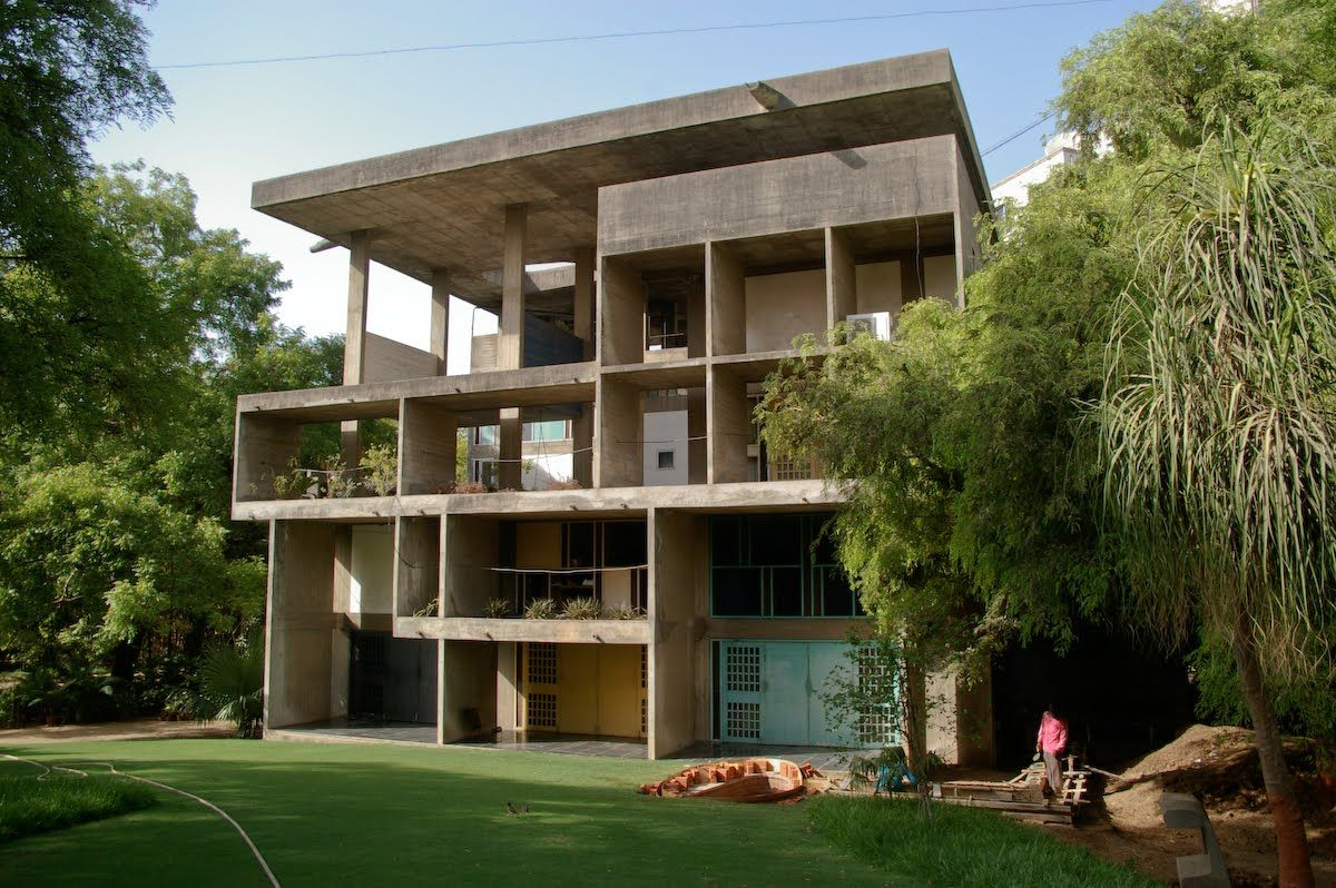 Villa Shodhan By Le Corbusier 1951 1956 Ahmedabad India