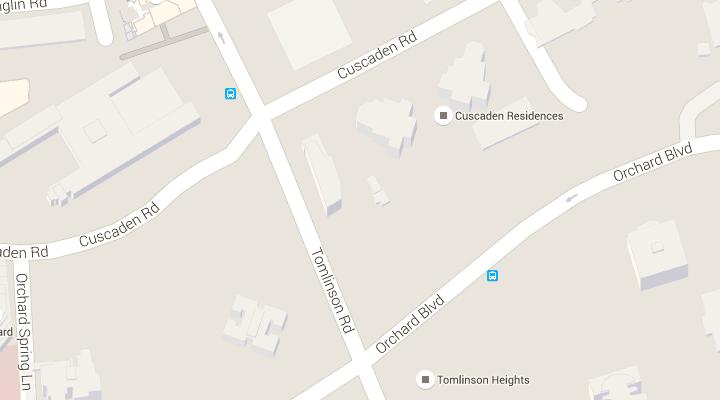 Map, Direction, Address | Hotel Jen Tanglin Singapore | 酒店 HOTEL on