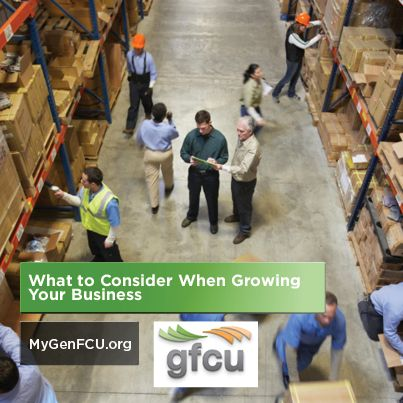 What to consider when wanting to grow your business
