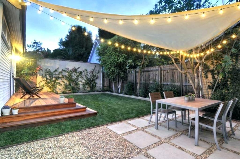 Landscape Ideas For Small Yard Small Backyard Renovation Ideas