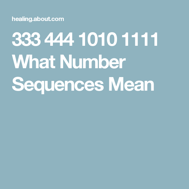 Spiritual Number Sequences Explained | Angels and courses