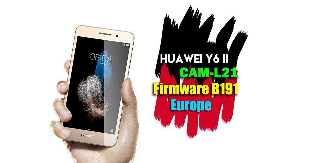 Huawei Y6 2 Прошивка