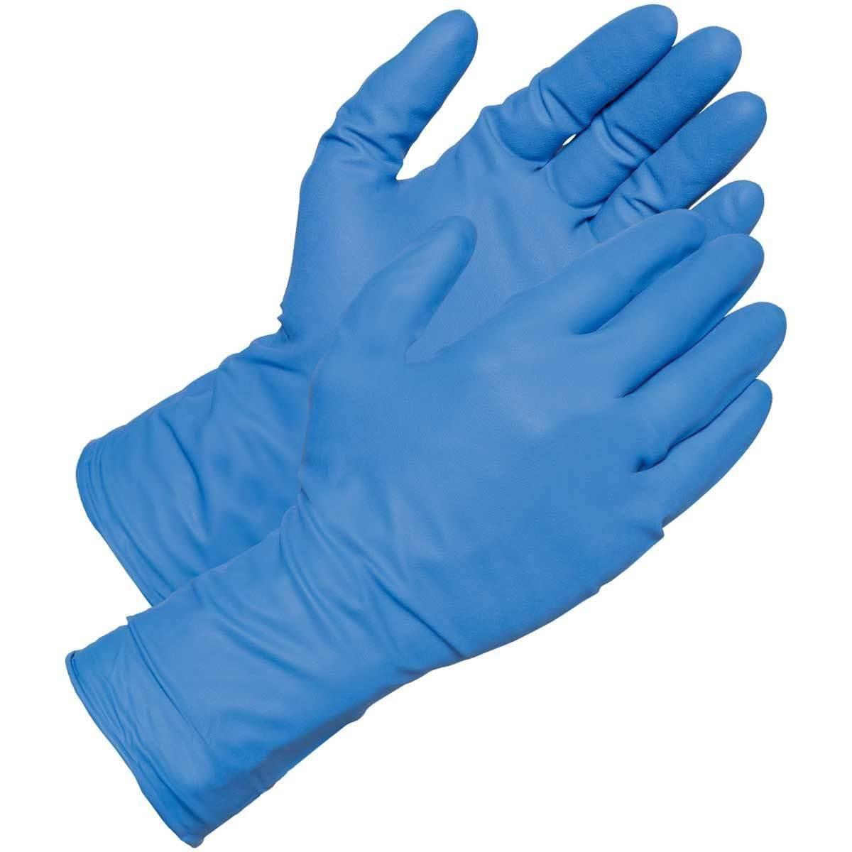 OYTRO Unisex Disposable Medical Natural Latex Rubber Surgical Gloves Sterile Gloves