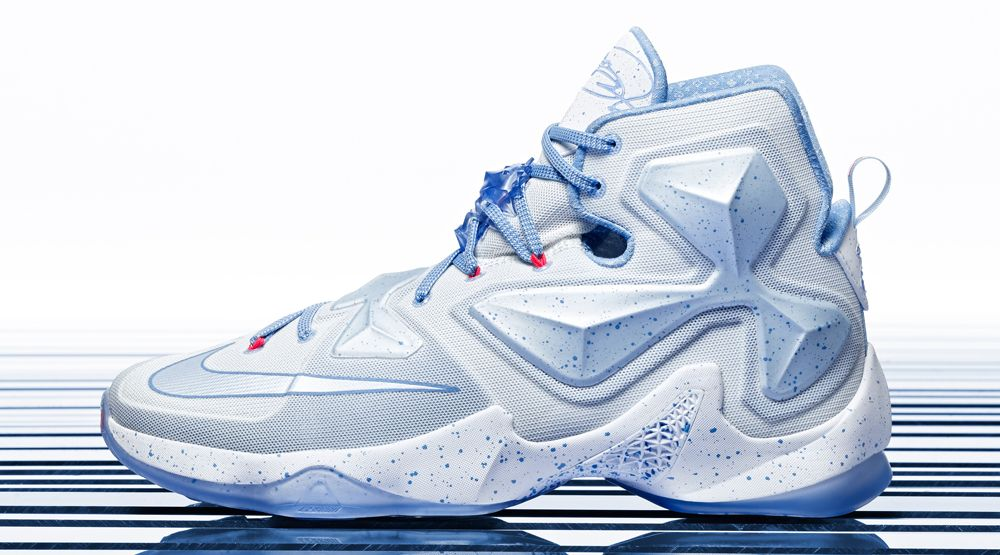 Nike LeBron 13 Christmas Embraces the Midwest Winter