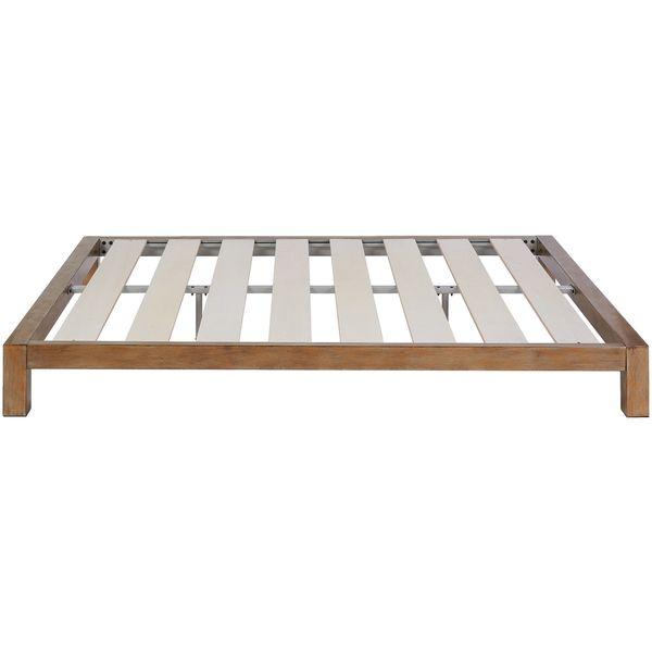 Motif Design Aura Deluxe Platform Bed Gold Redecoration Bed