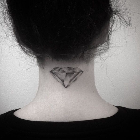 21 expertly executed diamond tattoos | — tattoos on women