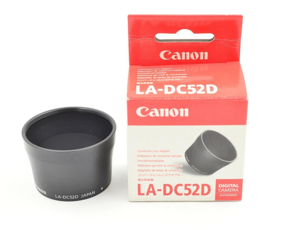 Canon La Dc52d Lens Adapter For Powershot A80 A95 Digital Camera 575 Ebay Digital Camera Powershot Digital