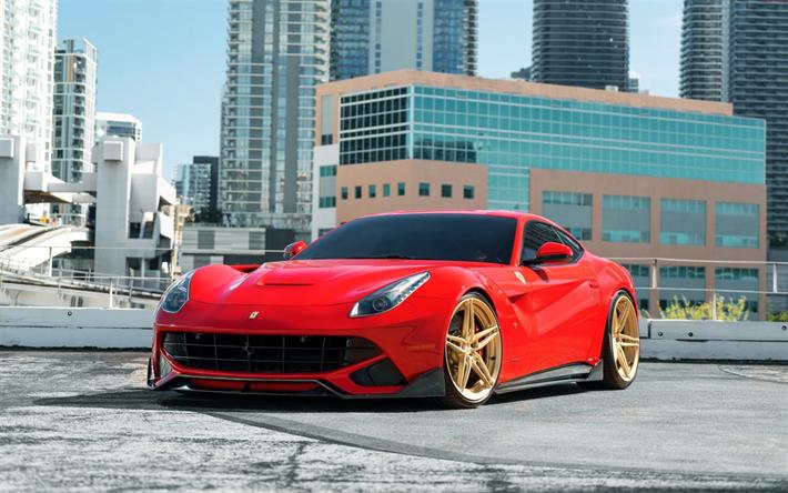 Download Imagens A Ferrari F12 Berlinetta 2018 Vermelho Cupe
