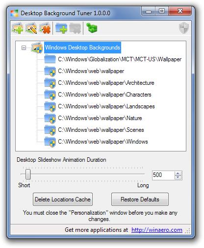 Select Multiple Picture Folders For Windows Desktop