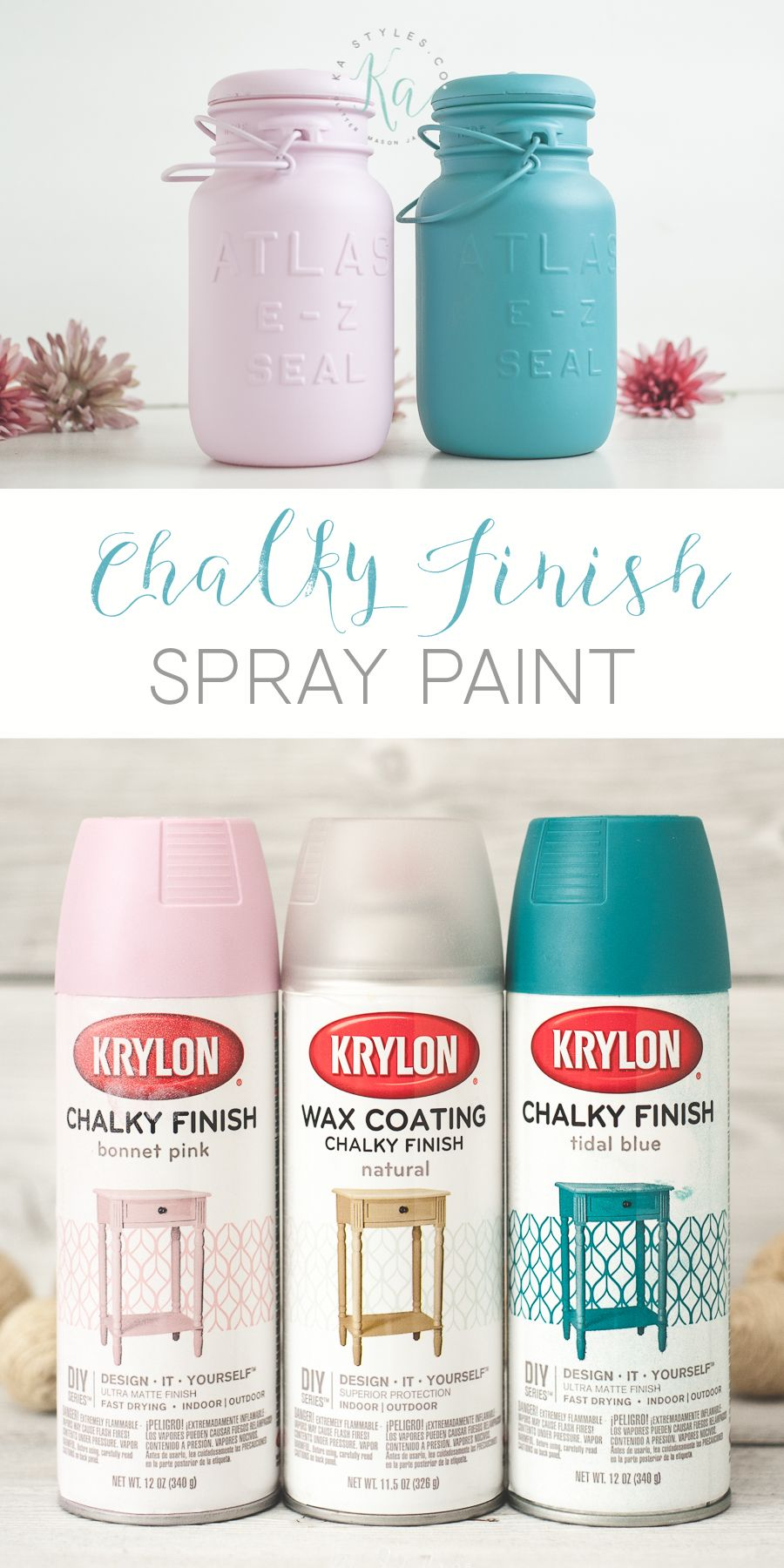 Krylon Chalk Finish Paint Diy Spray Paint Spray Paint