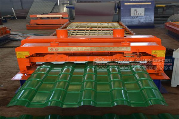 Bamboo Glazed Tile Steel Sheet Roll Forming Machine Consists Of Several Part Bamboo Glazed Tile Steel Sheet Roll Glazed Tiles Roof Tiles Roll Forming