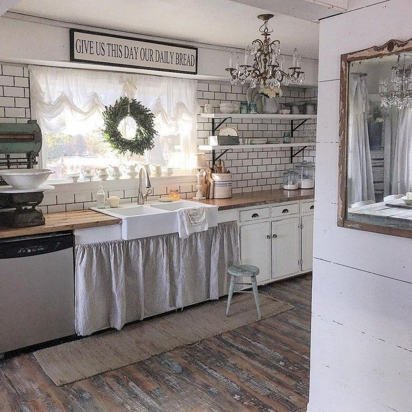86 pretty farmhouse kitchen makeover design ideas on a budget 82 with images kitchen design on farmhouse kitchen on a budget id=57525