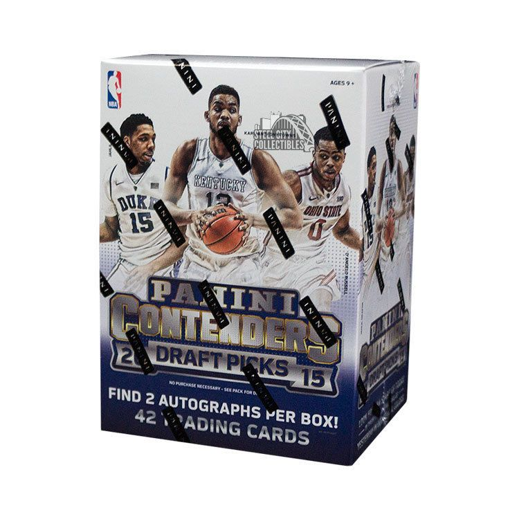 201516 panini contenders draft picks basketball blaster