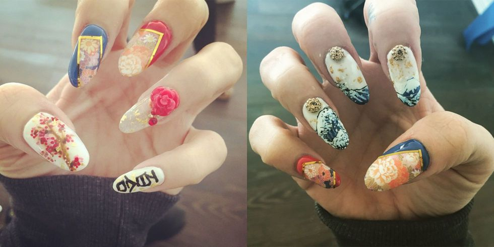 103 celebrity nail art designs to give you ALL the inspo... | La ...