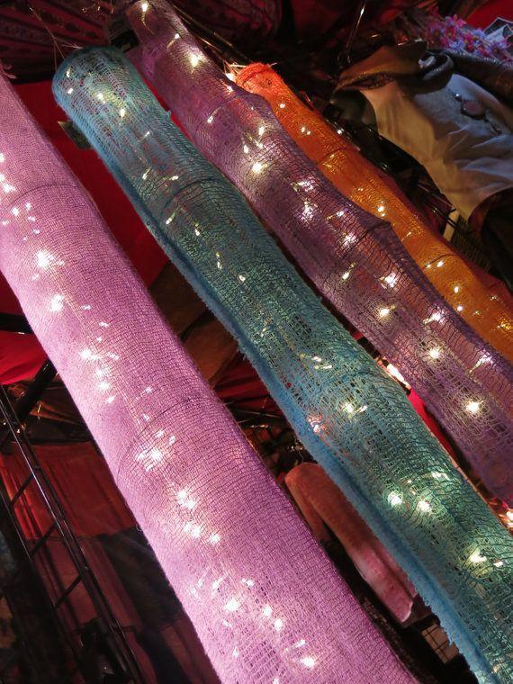 Boho hanging lights, Fairy lights, boho decor, bedroom, bohemian ...